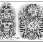 Флэши от Steve Soto, Set 6 TattooReal.ru image 1