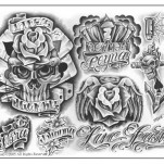Флэши от Steve Soto, Set 3 TattooReal.ru image 2