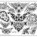 Флэши от Steve Soto, Set 3 TattooReal.ru image 3