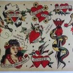 Old school флэши от Sailor Jerry TattooReal.ru image 33