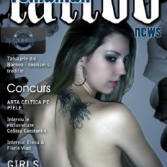 "Журнал ""Romanian Tattoo News"", 2 издание. TattooReal.ru"