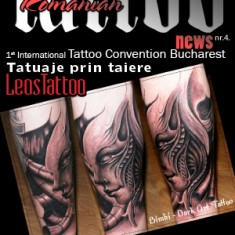 "Журнал ""Romanian Tattoo News"", 4 выпуск. TattooReal.ru"