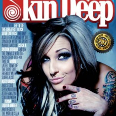 "Журнал ""Skin Deep Tattoo"" №203, Октябрь 2011 год TattooReal.ru"