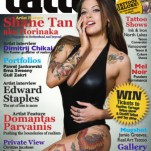 "Журнал ""Total Tattoo"", июль 2013 год TattooReal.ru"