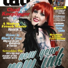 "Журнал ""Total Tattoo"", февраль 2014 год TattooReal.ru"