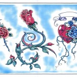 Флэши - Flowers 1 TattooReal.ru image 94
