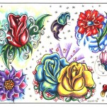 Флэши - Flowers 1 TattooReal.ru image 103