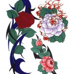 Флэши - Flowers 1 TattooReal.ru image 11