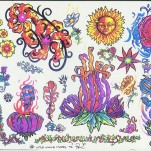 Флэши - Flowers 1 TattooReal.ru image 102