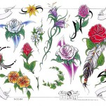 Флэши - Flowers 1 TattooReal.ru image 29