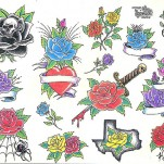 Флэши - Flowers 1 TattooReal.ru image 34