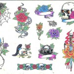 Флэши - Flowers 1 TattooReal.ru image 36