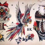 Тату-дизайн от моряка Джерри TattooReal.ru image 32