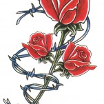 Флэши - Flowers 1 TattooReal.ru image 21