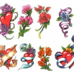 Флэши - Flowers 1 TattooReal.ru image 24