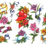 Флэши - Flowers 1 TattooReal.ru image 25