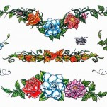 Флэши - Flowers 1 TattooReal.ru image 15