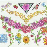 Флэши - Flowers 1 TattooReal.ru image 20