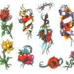 Флэши - Flowers 1 TattooReal.ru image 26