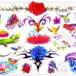 Флэши - Flowers 1 TattooReal.ru image 41