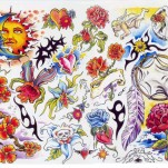 Флэши - Flowers 1 TattooReal.ru image 42