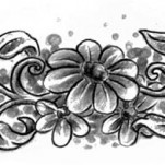 Флэши - Flowers 3 TattooReal.ru image 88