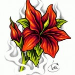 Флэши - Flowers 3 TattooReal.ru image 11