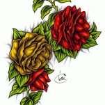 Флэши - Flowers 3 TattooReal.ru image 13