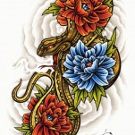 Флэши - Flowers 3 TattooReal.ru image 20