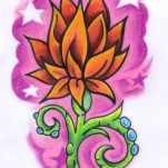 Флэши - Flowers 3 TattooReal.ru image 24