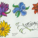 Флэши - Flowers 3 TattooReal.ru image 34