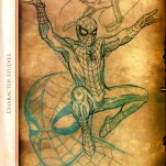 "Книга ""Spider-Man: The Other Sketchbook"" TattooReal.ru image 10"