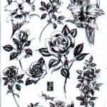 Флэши - Flowers 1 TattooReal.ru image 48