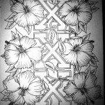 Флэши - Flowers 1 TattooReal.ru image 72