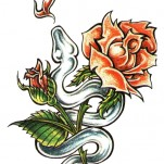 Флэши - Flowers 3 TattooReal.ru image 44