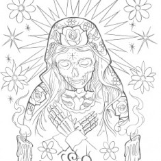 "Книга Steve Soto ""The day of the dead"" TattooReal.ru"