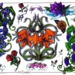 Флэши - Flowers 3 TattooReal.ru image 48