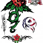 Флэши - Flowers 3 TattooReal.ru image 53
