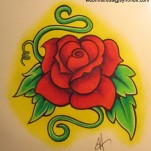 Флэши - Flowers 3 TattooReal.ru image 63