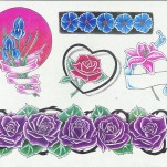 Флэши - Flowers 3 TattooReal.ru image 71